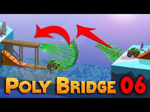 SKOKANSKÝ MOST PRO MONSTER TRUCKY! | Poly Bridge #06 | Pedro