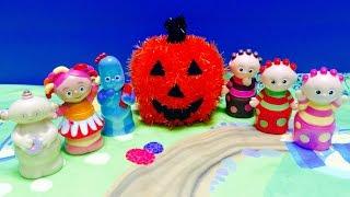 IN THE NIGHT GARDEN Toys Pumpkin Hiding Game!