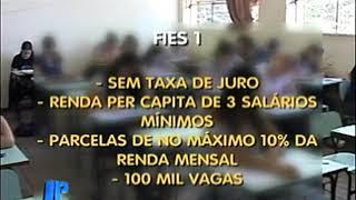 Fies deve oferecer 100 mil vagas com juro zero em 2018. #JornaldaPampa