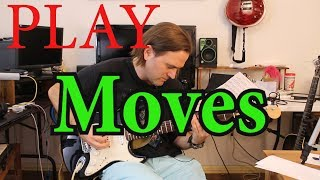 How to play Moves on guitar and bass by Olly Murs & Snoop Dogg - Bassline & Guitar Chords