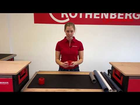 ROCUT Plastic Pro – plastic pipe cutter Rothenberger
