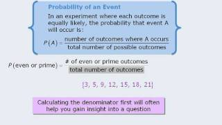 GMAT Prep - Math Lesson - Intro To Probability