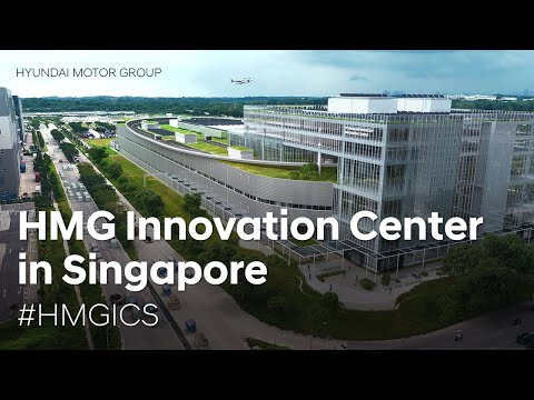 New Hyundai Motor Group Innovation Center in Singapore