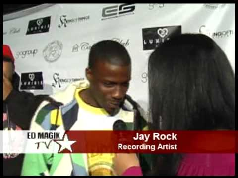 top dawg ent - Jay Rock of Top Dawg Ent. Interview at LRG / XXL Party.