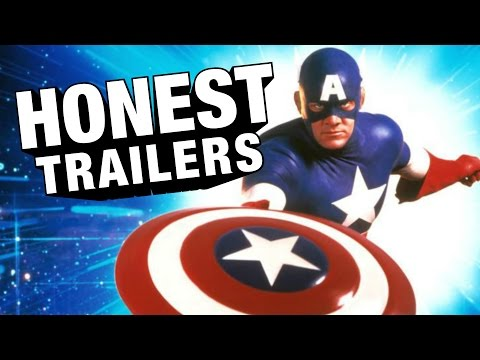 An Honest Trailer for Captain America  1990