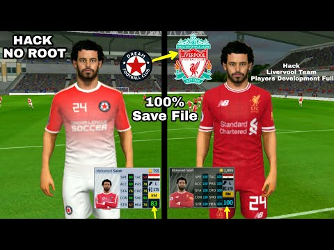 How To Hack Liverpool Team 2018 ● All Players 100 & Kits Logo ● Dream League Soccer 2018