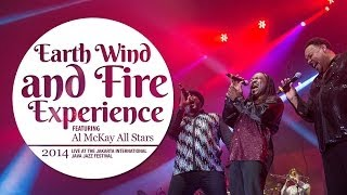 Earth Wind and Fire Experience Live at Java Jazz Festival 2014 - YouTube