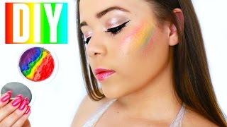 DIY Rainbow Highlighter! | Krazyrayray by Krazyrayray