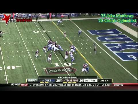 Germain Ifedi vs Duke 2013 (Chick Fil A Bowl) video.