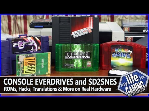 EverDrives and SD2SNES - ROMs, Hacks, & More on Real Consoles / MY LIFE IN GAMING
