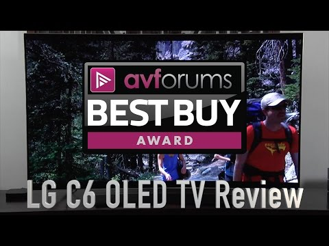 LG 55-inch C6 4K UHD HDR OLED TV Review