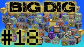 Minecraft Big Dig - Crazy Mage Tower! #18