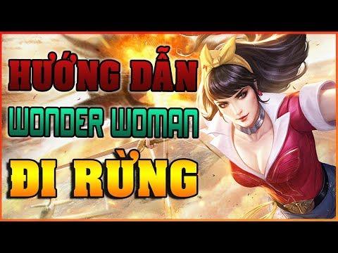 Hướng Dẫn Chơi Tướng WONDER WOMAN - Cách Chơi WONDER WOMAN đi RỪNG - ARENA OF VALOR WONDER WOMAN - Thời lượng: 14 phút.
