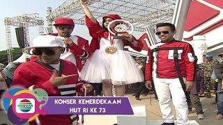 Video WOW!! Lesti Kalahkan Pak Haji Rhoma Irama dalam Lomba Makan Krupuk di Ancol | Konser Kemerdekaan MP3, 3GP, MP4, WEBM, AVI, FLV November 2018