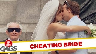 Bride Cheats on Blind Husband Prank, Just for laughs, Just for laughs gags, Just for laughs 2015