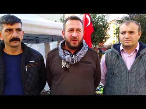 Pazar'da Türkmenler için yardım kampanyası başlatıldı