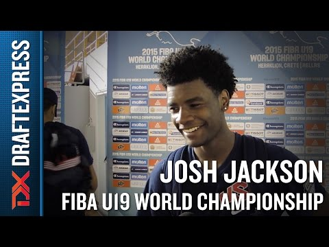Josh Jackson 2015 FIBA U19 World Championship Interview