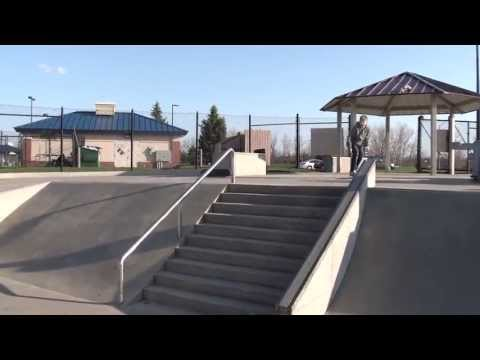 Amazing Tricks at Ankeny skatepark!(HD)