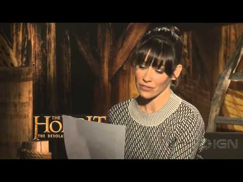 Bilbo - The stars of The Desolation of Smaug perform a dramatic reading of Leonard Nimoy's infamous song.