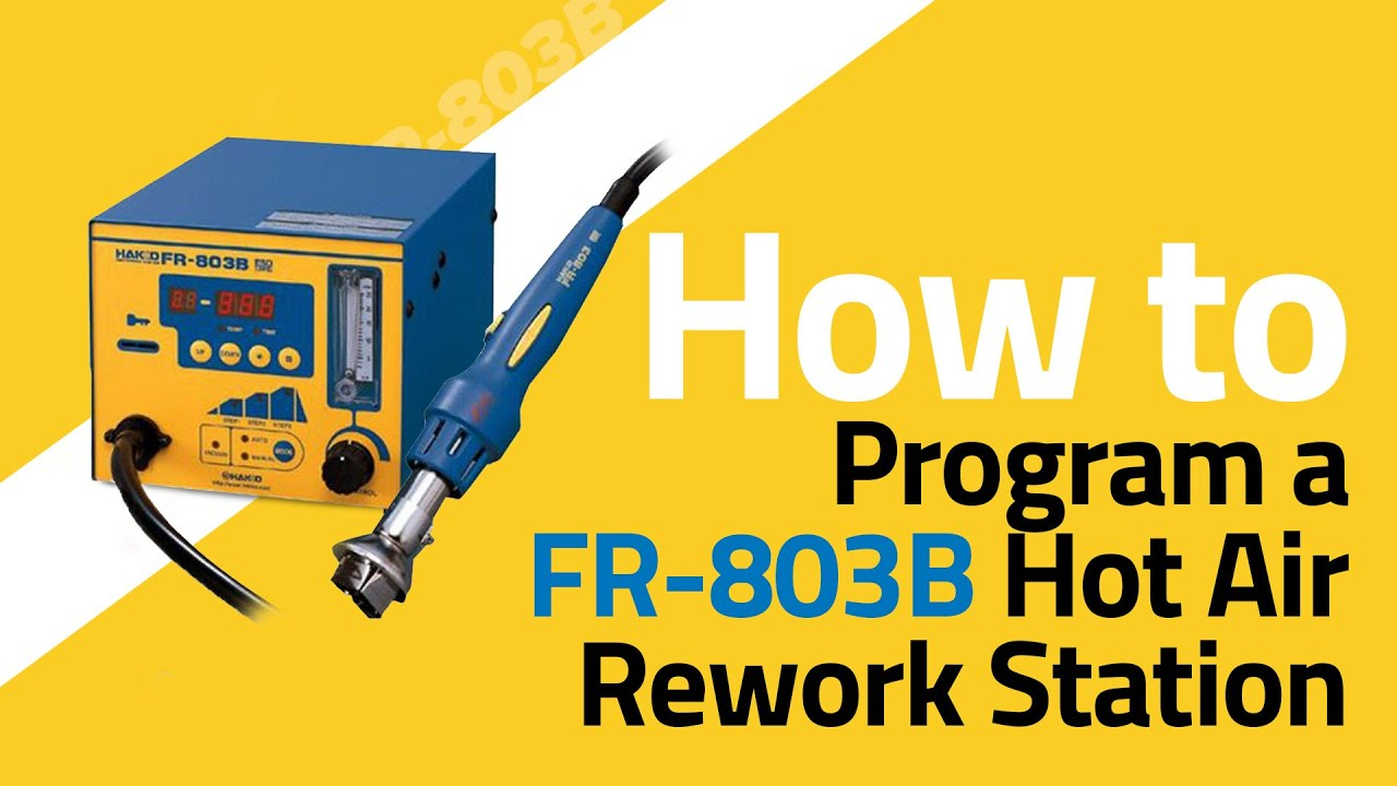 FR-803B How To Program with a Thermocouple
