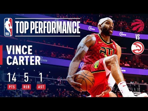 Video: Vince Carter Surpasses 25,000 Career Points with a SLAM! | November 21, 2018