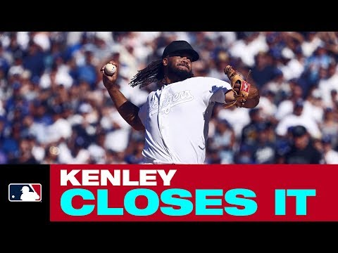 Video: Kenley Jansen closes it out for the Dodgers