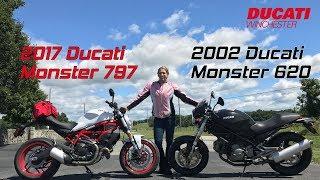 1. 2017 Ducati Monster 797 v 2002 Ducati Monster 620