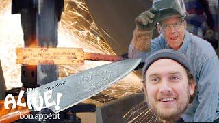 Brad Makes A Knife with Bob Kramer | It's Alive | Bon Appétit