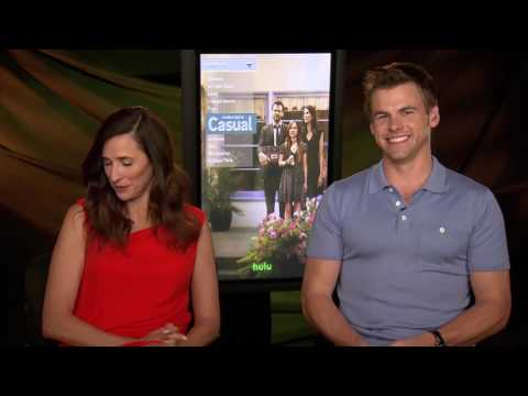 "Michaela Watkins Interview with Tommy Dewey ""CASUAL"""