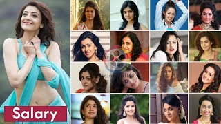 Video South Indian Actress Salary | Highest & Lowest Paid Actresses | Tamil, Telugu, Malayalam, Kannada MP3, 3GP, MP4, WEBM, AVI, FLV September 2018