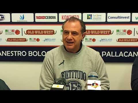 Fortitudo, le parole di Comuzzo pre match Piacenza