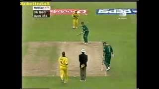 22 Jonty Rhodes crazy sixes video