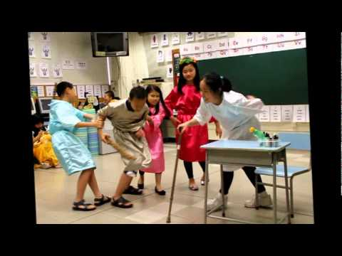 Classroom drama lesson video