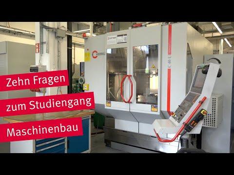 Vorstellung des Studiengangs Maschinenbau