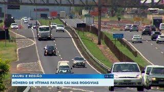 Número de vítimas fatais cai nas rodovias