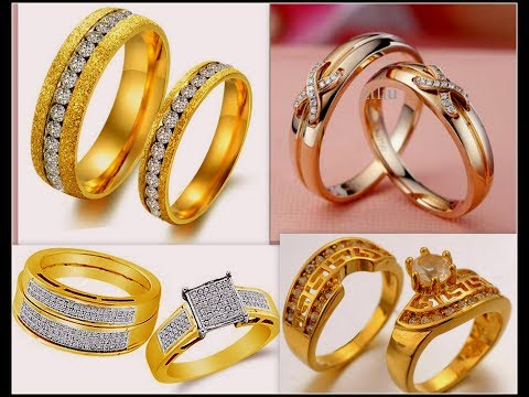 Latest Wedding/ Engagement Rings Set For Couples