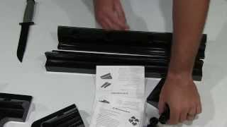 Instapark Universal Drill-free Solar Panel Rooftop Mount Unboxing