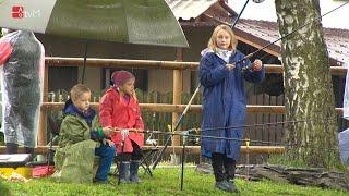 Rybářské závody pro děti v Újezdě u Mohelnice