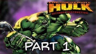 Video The Incredible Hulk Ultimate Destruction PS2: Part 1 MP3, 3GP, MP4, WEBM, AVI, FLV September 2018