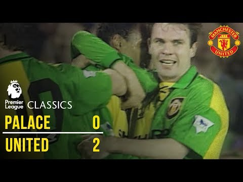 Crystal Palace 0-2 Manchester United (92/93) | Premier League Classics | Manchester United