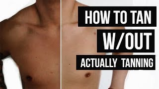 Just a rando #woowednesday video! In this video i'm talking about how I get nice and tan without actually tanning. Just a quick tip. Don't forget to hit LIKE and SUBSCRIBE! ▹ BUSINESS INQUIRIES: CONTACT@JAIRWOO.COM▹ SUBSCRIBE! IT'S FREE: http://bit.ly/1fwucqq▹ SNAPCHAT, INSTAGRAM & TWITTER @JAIRWOO▹ TOP 5 SPRING FASHION TRENDS: http://bit.ly/1FZLPAe▹ HOW TO STYLE DENIM JACKET: http://bit.ly/1B5yRue ▹ BUY MY #JWxTV bracelets: http://bit.ly/1BeTk3AS O C I A L M E D I A -✘ S N A P C H A T@JAIRWOO✘ I N S T A G R A Mhttp://www.instagram.com/jairwoo✘ LIKE MY OFFICIAL FACEBOOK!http://facebook.com/officialjairwoo✘ T W I T T E R http://www.twitter.com/jairwoo✘ T U M B L R http://www.jairwoo.tumblr.com✘ B L O G http://www.jairwoo.com✘ JAIRWOO TV http://bit.ly/VcCxXXC A M E R A S & E D I T I N G✘ Editing Software: Final Cut Pro Xhttp://apple.co/1lkUrII✘ Camera: Canon EOS 70D SLRhttp://amzn.to/1HrenUL----------------------------------------------------------A leading YouTube Mens Lifestyleguru based in Los Angeles who hasearned 320K subscribers. Jair offersinformative, educational, and funtutorials as well as mens products,hair styling advice, and tips onpersonal style.