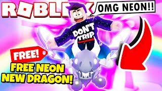 How to Get a FREE Neon SHADOW DRAGON in Adopt Me! NEW Adopt Me Halloween Update 2019 (Roblox)