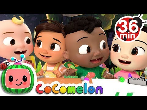 The Hello Song + More Nursery Rhymes & Kids Songs - CoCoMelonThe Hello Song - Thời lượng: 36:11.
