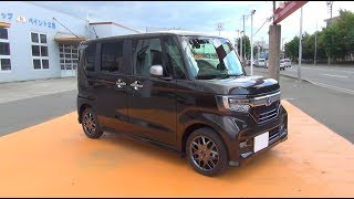 Video 2017/2018 New HONDA N-BOX Custom Turbo Honda SENSING 4WD - Exterior & Interiror MP3, 3GP, MP4, WEBM, AVI, FLV Juli 2018