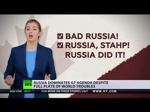Russia on the table? G7 nations come together to tackle the Kremlin menace