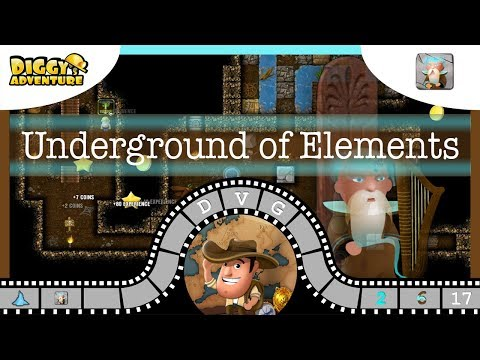 [~bragi~] #17 Underground Of Elements - Diggy's Adventure