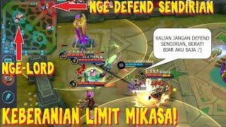 Download Video Salut dengan keberanian mikasa, demi team-nya bunuh lord dia rela tahan musuh sendirian MP3 3GP MP4