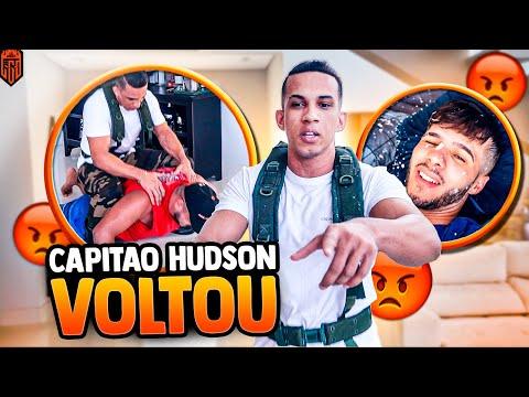 O CAPITÃO HUDSON VOLTOU !!! HORA DE OPRIMIR GERAL  - LOS GRANDES FREE FIRE