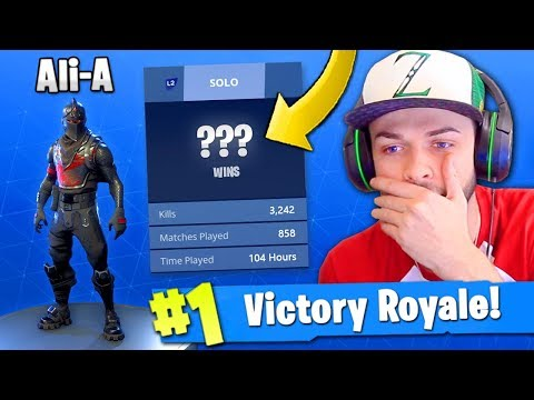 Ali-A's Fortnite: Battle Royale STATS REVEALED! (+ Controller Settings)