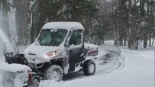 7. Polars Ranger XP _  27 HP Berco Snow Blower